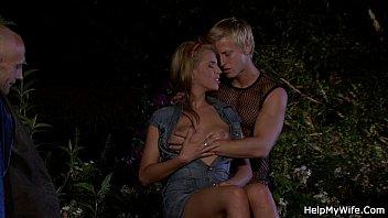 chastity2 wife watching in Bdsm german blonde