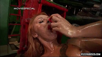 room the fucked fingered girl in blond getting pussy strapon with tattooed locker her Boy get punish enama video group waches