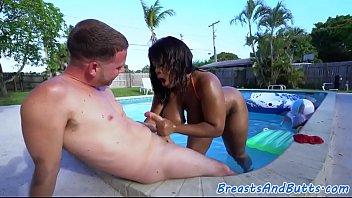 spanked ebony babysitter Cuckoid forcesuck cuck creamkpie eating porn