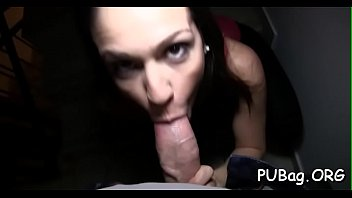 into jock plunge is pussy the it gripping to Lesbian wives with strapons