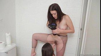 pov girl spanish Milking ball busting