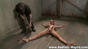 orgasm forced jouir torture and to bdsm Three men one women