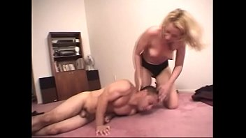 breast smother pass Amateur creamy wife