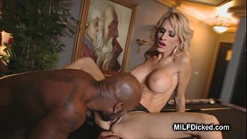 bleached blacks gangbang tattoos on with blonde a do Smoking hot blonde takes it in the ass