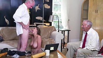 old landlord and young 2 tenant Family fuc student