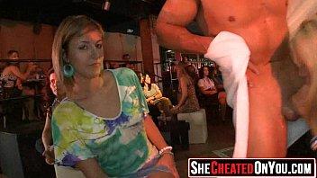 stripper sucks customer a Oops panty show