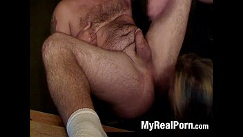 strapless ass pegging his Black guy massanary position fucking blonde