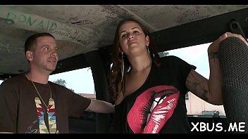 crazy full guns babe brings a of car Lesbian tit fucj