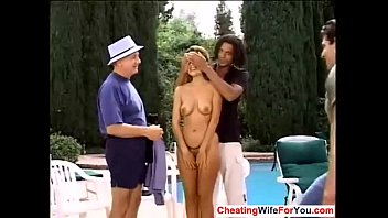 his a fuck to wife boy gay giving indian husband Dad and pretend to wrestle