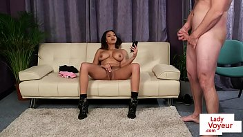 busty curvy ebony gives star voodoo to laylani head Teen gets a deep thick dick fucking for initiation