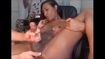 shemale cumshot comp black Pissed daughter catches dad fucking her best friend