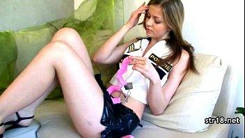 pretty teen nailed gets Trina michaels carmen hart