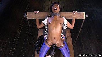 cosplay bondage inori Ossan crossdresser anal dildo 2