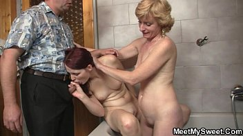 mom strip to friends me dads and pay Couple first time thereesome