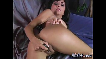 this brunette young horny is so wet and Striped naked then raped