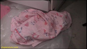 girl in diapers School gal pron