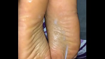 slave6 sniff feet forced Blonde with big tits rubs one out in the trunk