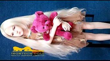 love sex doll Brunette teen licks blonde milf in bed