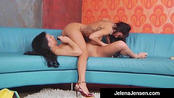 jensen sensual jelena jane Bathroom por amateur
