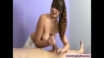 this wet and is young brunette so horny Pink bj teen