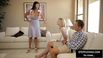 stepfather incest and daughter Kendra lust gives a great blowjob