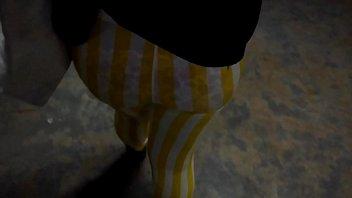 yoga smith jeny through pants fetish see German pregnant teen blow licking black balls