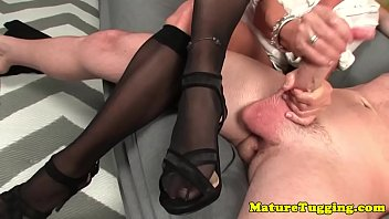 massage until cum Classic french mature milf threesome