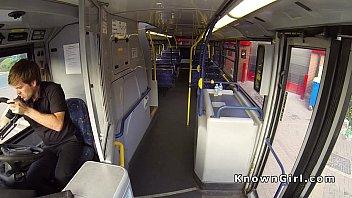 uk public train bus handjob Solo sqorting orgasm
