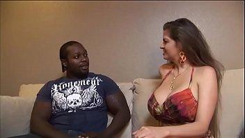 dildo brunette busty Hanging tits bj
