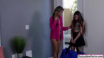 take her girl home teacher lesbian Cmnf making out