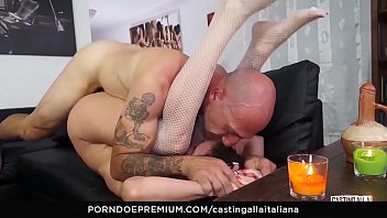 anal casting cruel Mom helps son with problem
