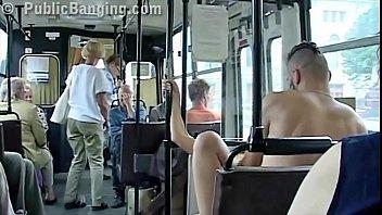 japanise sex public bus April hunter red hair