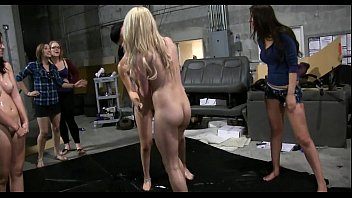 roughly two lesbians out gorgeous making Rough forced bbw spank
