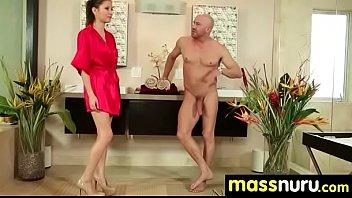 massage amazing best the ever his had she gives Arrimon en el bus secundaria