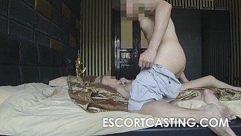 casting cruel anal Shemale cuming own ass